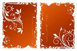Autumn floral backgrounds