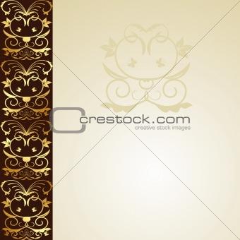 Greeting ornament card
