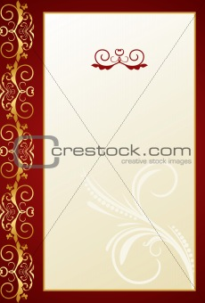 Greeting ornament card