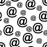 Seamless email pattern