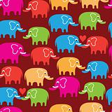 cartoon wallpaper with elephant