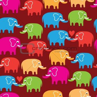 cartoon wallpaper with elephant