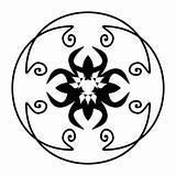 Illustration decorative ornate for design