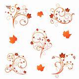 Autumn floral design