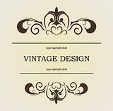 Vintage design