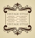 Luxury vintage for design