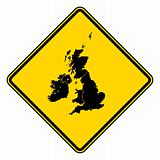 United Kingdom road sign