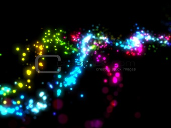 Abstract light sparkle background