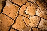 cracked of soil background