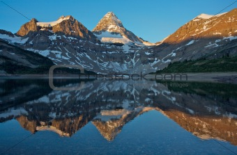 Mount Assiniboine and Lake Magog