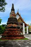 Pagoda, stupa, Buddhist temple, Buddhist monastery, in the temple