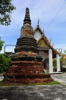 Pagoda, stupa, Buddhist temple, Buddhist monastery, in the temple