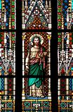 stained window -