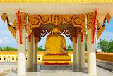 image of Buddha in a temple of Thailand