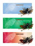 Christmas theme banners