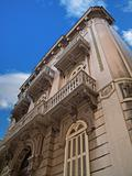 Historic building in Bari. Apulia.