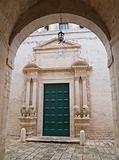 St. Benedetto Convent. Conversano. Apulia.