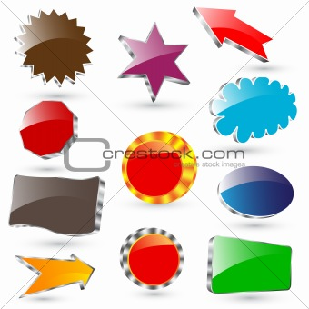3d vector labels