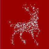 Magic christmas reindeer