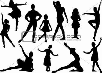 Ballet silhouette 2