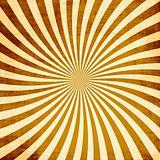 Retro Rays Grunge Texture