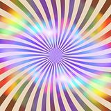 Rainbow Retro Rays Texture