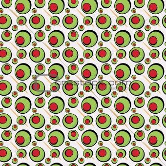 Green Olives Pattern