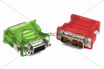 Green and red adapters