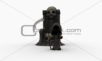 Grim Reaper cartoon