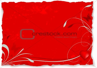Abstract valentine A