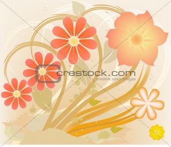 Abstract art  design background vector illustration