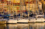 Vieux port ( old port) in Cannes, France