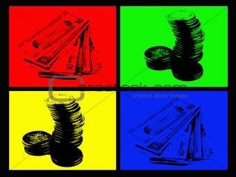4 Color Money