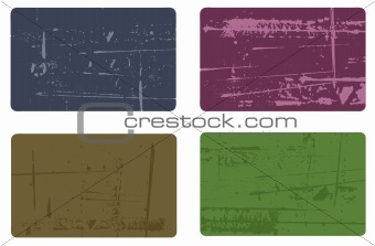 Grunge elements - 4 Business Cards 2