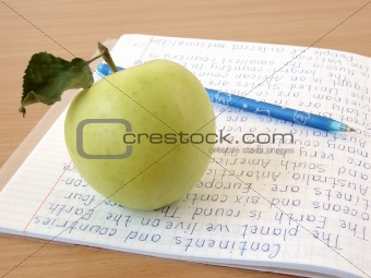 apple with notebook 3