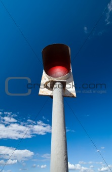 bridge signal post