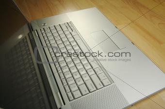 Angled Laptop Image on Desk
