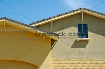 Abstract of New Stucco Wall Construction