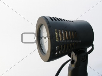 Close up shot of spotlight