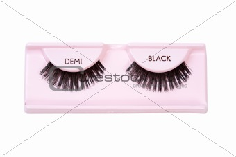 Black demi lashes