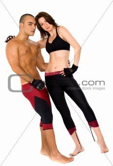 couple of athletes