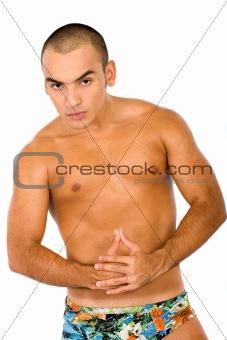fitness male portrait