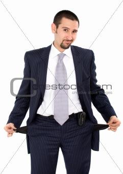 bankrupt business man