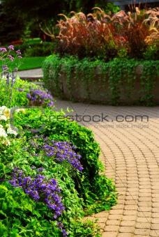 Formal garden
