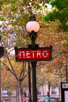 Paris metro