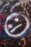 smiley graffiti
