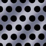 Steel Holes Background