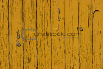 old yellow wood plank surface