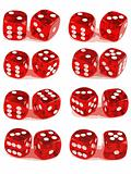 2 Dice Showing All Numbers (2 of 3)