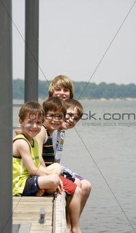 Boys on the Dock